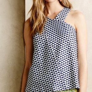 Anthropologie HD in Paris Jacquard Tank *LIKE NEW*
